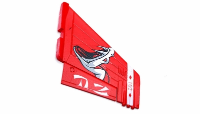 One Pc of  LeftVertical Tail-Red 69A918-07-VerticalTailLeft-Red