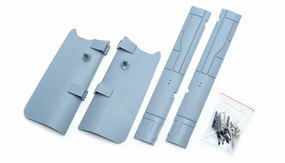 One Set Of LandingGearCover-Grey 69A918-10-LandingGearCover-Grey