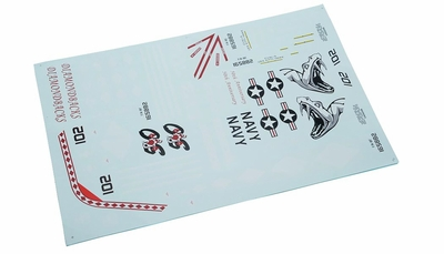 One Set Of Stickers-Red 69A918-24-DecalStickers-Red