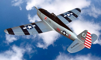 "P-47 Thunderbolt 120 - 71"" Nitro Gas ARF Radio Remote Controlled RC Airplane R/C Warbird Plane New!"