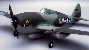 "P-47 Thunderbolt 52 - 56"" Scale Nitro Gas Radio Remote Control Warbird Airplane CMP-Gas-Thunderbolt40"