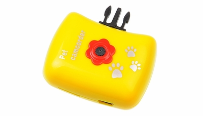 Pet Cam Pets View HD Spy Camera (Yellow)