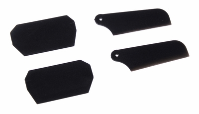 Plastic paddle & tail blade 60P-ERZ1-001