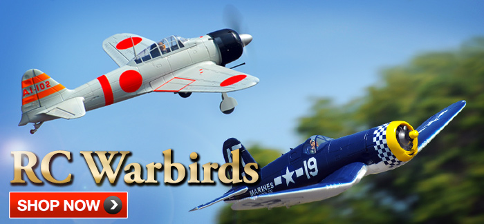 Popular RC Warbirds