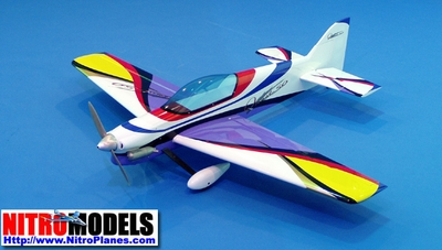 "Quest-50 - 54.6"" Nitro Gas ARF Radio Controlled Aerobatic R/C Aircraft CMP-Gas-Quest50"