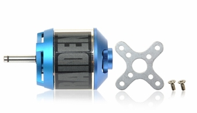Raiden 400XT 1050KV Outrunner RC Brushless Motor for 3D Park Flyer (Mount Front)