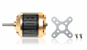 Raiden 400XT 1050KV Outrunner RC Brushless Motor for 3D Park Flyer (Mount Rear)