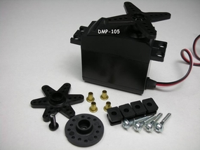 Raiden DMP-105 49G Digital Servo w/Metal Gear for High-Torque performance DigitalServo_RaidenDMP105