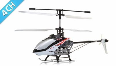 RC 4 Channel SkyWing 2.4Ghz RTF Helicopter RC Remote Control Radio