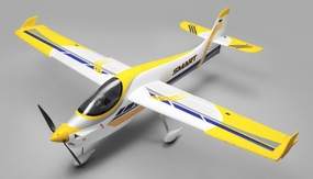 RC Dynam Smart Trainer Airplane 4 Channel Almost Ready to Fly 1500mm Wingspan (ARF) RC Remote Control Radio