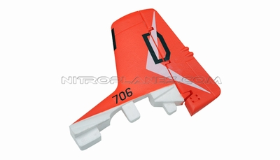 Rudder 93A328-04-Red
