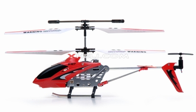 S107 Helicopter Replacement Parts (Red) (Electronics are not included)