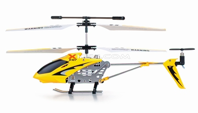 S107 Helicopter Replacement Parts (Yellow) (Electronics are not included)