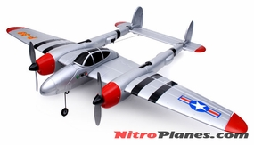 SD 3 Channel EPO Electric RTF Warbird Airplane 3396-SD-Lightning