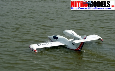 "Seawind Seaplane 60 - 70"" Almost-Ready-to-Fly  led RC Sea Plane ARF Seaplane RC Remote Control Radio"