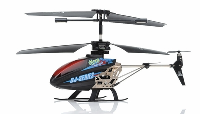 SJ991 IR 3.5CH Sky Writer RC Helicopter (Black) RC Remote Control Radio