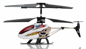 SJ991 IR 3.5CH Sky Writer RC Helicopter (White) RC Remote Control Radio