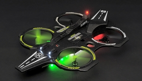 Sky Cruiser 4 Channel 6 Axis Gyro Quadcopter Flying Machine 2.4ghz Ready to Fly RC Remote Control Radio