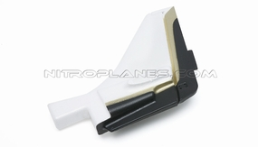 Sky Trainer 400 Rudder (Black) 93A400-04-Black-Rudder