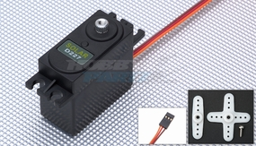 Solar Servo D227 0.21@4.8v Digital Metal Gear 52g w/ Bonus Servo Case & Gear while supplies last