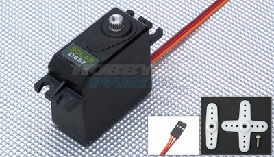 Solar Servo D652 0.09@6.0v Digital 60g Metal Gear