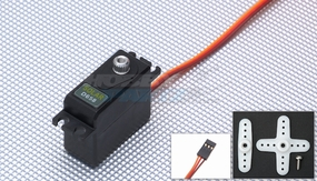 Solar Servo D658 0.1@4.8v Mini Digital Metal Gear 26g 33P-SolarServo-D658