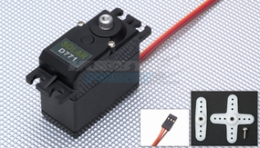 Solar Servo D771 Digital High Voltage .08sec@7.4v 64g Metal Gear  High Speed Servo 33P-SolarServo-D771