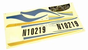 Sticker (White) 93A400-16-White-Sticker