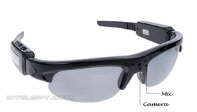 Sunglass Shade Video Eyewear Spy Video Recorder/MP3 Player w/ Built in 2GB Memory 72P-960H-AVMP3-SunGlass-Cam