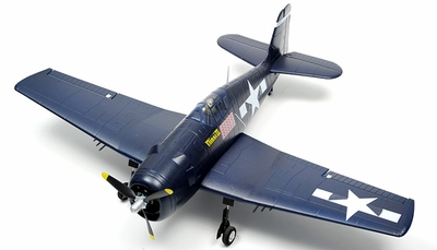 Super Scale Airfield 1100mm F6F Hellcat EPO Warbird Plane ARF w/ Brushless Motor/ESC RC Remote Control Radio