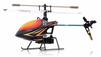 Syma F3 4 Channel RC Helicopter 2.4ghz (Black) RC Remote Control Radio