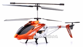 Syma S031 3 Channel Huge Size Outdoor RC Helicopter Ready-to-Fly w/ Gyroscope (Orange) RC Remote Control Radio