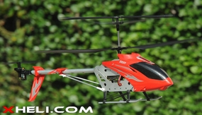 Syma S031 3 Channel Huge Size Outdoor RTF Remote Control Helicopter w/ Gyroscope (Red) RC Remote Control Radio