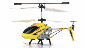 Syma S107 Metal RC Helicopter w/ Gyro (Yellow) RC Remote Control Radio
