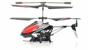 Syma S107C 3channel Coaxial Mini Spy Cam Helicopter (Black) RC Remote Control Radio