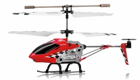 Syma S107N 3 Channel Mini Indoor Co-Axial Metal RC Helicopter w/ Built in Gyroscope RC Remote Control Radio