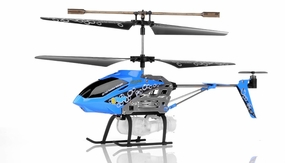 Syma S107P Bubble RC 3 Channel Helicopter (Blue) RC Remote Control Radio