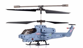 Syma S108G 3 Channel RC Indoor Mini Co-Axial Infared Marines RC Helicopter w/ Built in Gyro (Gray) RC Remote Control Radio