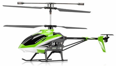 Syma S33 3 Channel RC Helicopter 2.4ghz (Green) RC Remote Control Radio