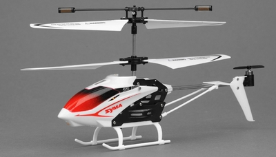 Syma S5 Infrared 3CH RC Helicopter with Gyro (White) RC Remote Control Radio