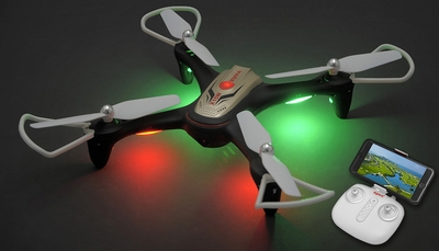 Syma X15W Hover WiFi FPV Camera 2.4G 6-axis Gyro RC Drone Quadcopter Ready to Fly (Gold)