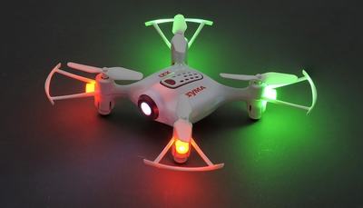 Syma X21 2.4G 4CH 6 Aixs Headless Mode Altitude Hold Mode RC Quacopter RTF (White)