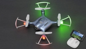 SYMA X21W WIFI FPV With 720P Camera APP Controller Altitude Hold Mode RC Quacopter RTF (Blue)