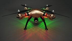 Syma X8HC Hover Headless Camera 2.4G 6-axis Gyro Quadcopter  Ready to Fly+4GB Memory Card