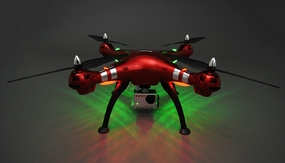Syma X8HG Hover Headless 8MP Camera w/ 16GB Memory Card 2.4G 6-axis Gyro Quadcopter  Ready to Fly