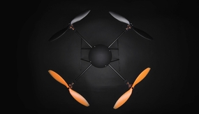 T580P+ Almost Ready To Fly Retractable  QuadCopter Carbon Fiber Brushless/ESC/Gyro ARF RC Remote Control Radio 09H004-T580-Plus-ARF