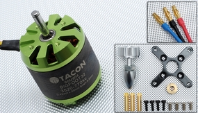Tacon Big Foot 32 Brushless Out Runner Motor for Airplane (770KV) 96M604-Bigfoot32-3520-770Kv