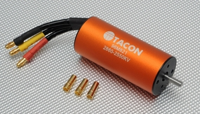 Tacon Brushless Motor LBP2860-B/4D-2550KV For 64mm to 70mm EDF Jet 96M821-2860-2550KV