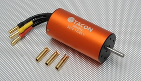 Tacon Brushless Motor LBP3674-B/2Y-1700KV For 90mm EDF Jet 96M812-3674-1700KV