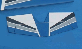 Tail Wing ARF_ElectricUltimateBlue_TAILWING